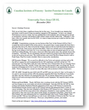 CIFNewsletter2014